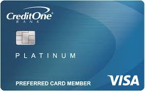 Credit One Bank Platinum Visa Credit Card