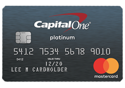 Secured mastercard from CapitalOne for bad credit