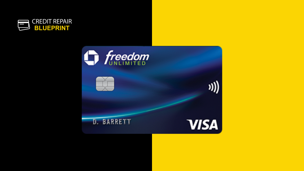 Chase Freedom Unlimited- Best No Interest Credit Cards